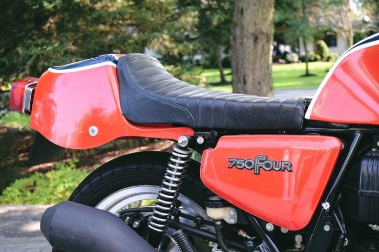 honda cb750 motorbike 10 740x493 - Rare Original Honda CB750 Phil Read Replica