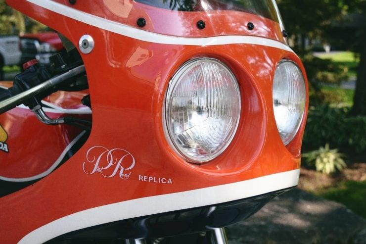 honda cb750 motorbike 11 740x493 - Rare Original Honda CB750 Phil Read Replica