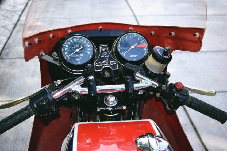 honda cb750 motorbike 12 740x493 - Rare Original Honda CB750 Phil Read Replica