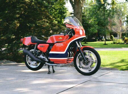 honda cb750 motorbike 3 450x330 - Rare Original Honda CB750 Phil Read Replica