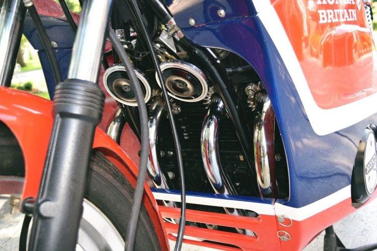 honda cb750 motorbike 8 740x493 - Rare Original Honda CB750 Phil Read Replica