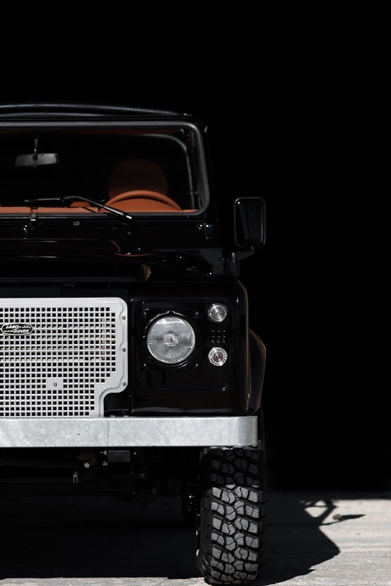 land rover defender car 15 - Jet Black Custom Land Rover Defender