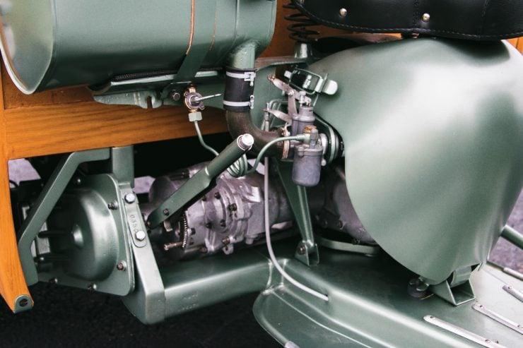 piaggio ape calessino scooter 10 740x493 - 1953 Piaggio Ape Calessino