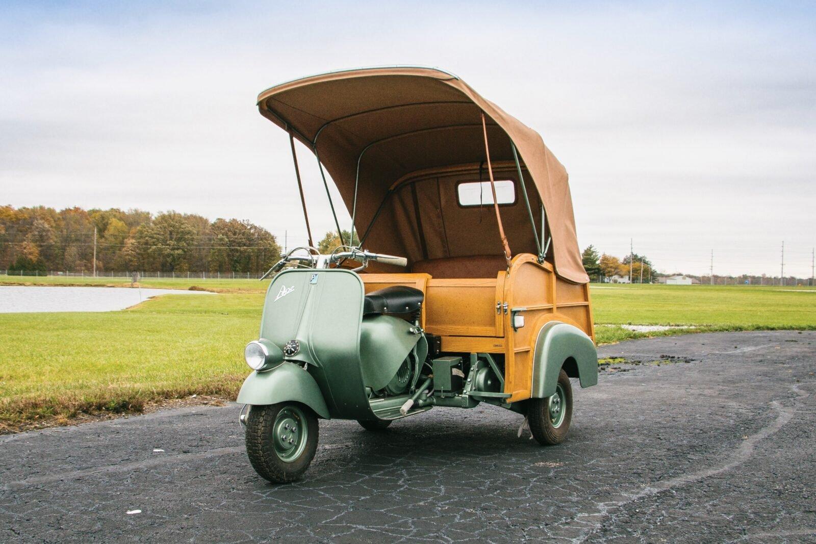 Ford >> 1953 Piaggio Ape Calessino