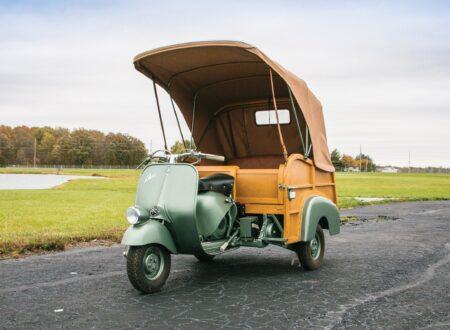 piaggio ape calessino scooter 16 450x330 - 1953 Piaggio Ape Calessino