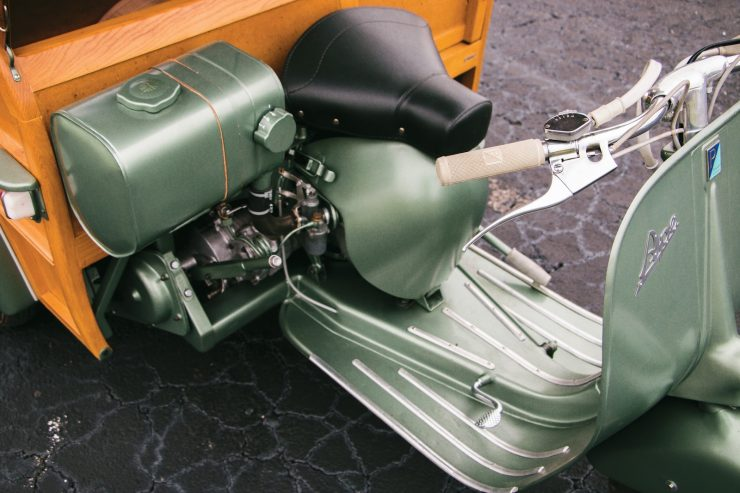 piaggio ape calessino scooter 19 740x493 - 1953 Piaggio Ape Calessino
