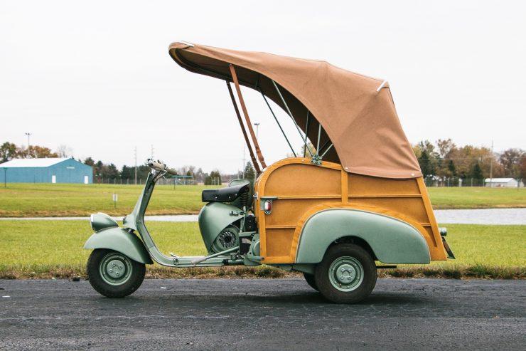 piaggio ape calessino scooter 5 740x493 - 1953 Piaggio Ape Calessino