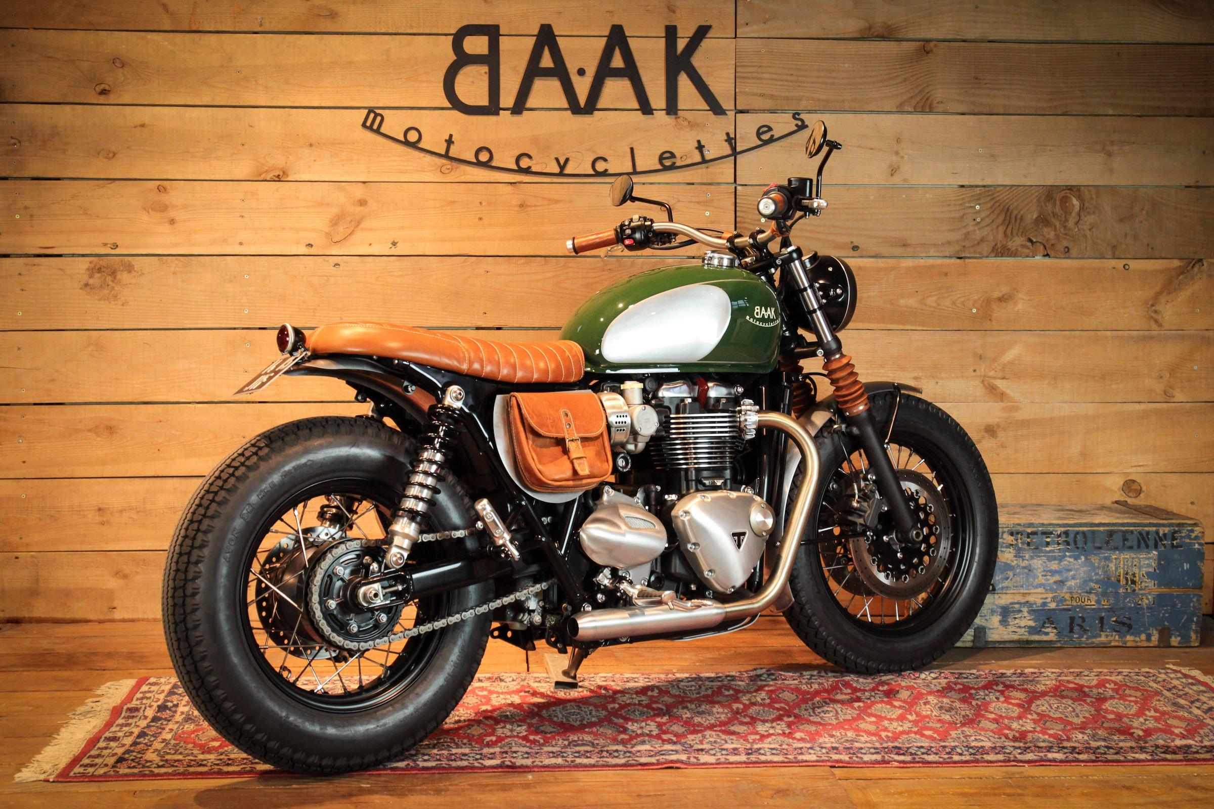 BAAK Motorcycles Custom Triumph Bonneville T120