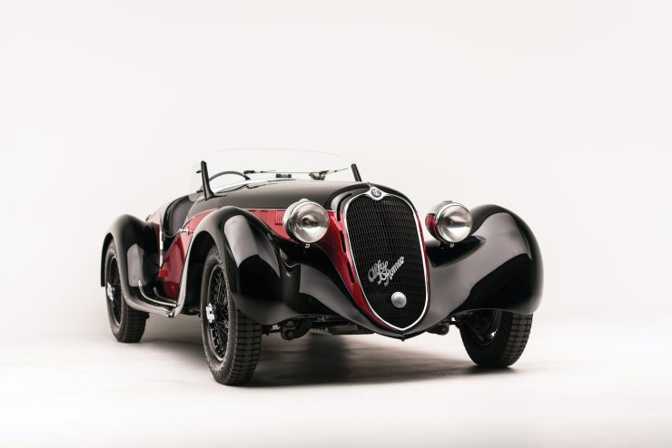 Alfa Romeo 6C 2500 6 740x494 - 1942 Alfa Romeo 6C 2500 SS Spider