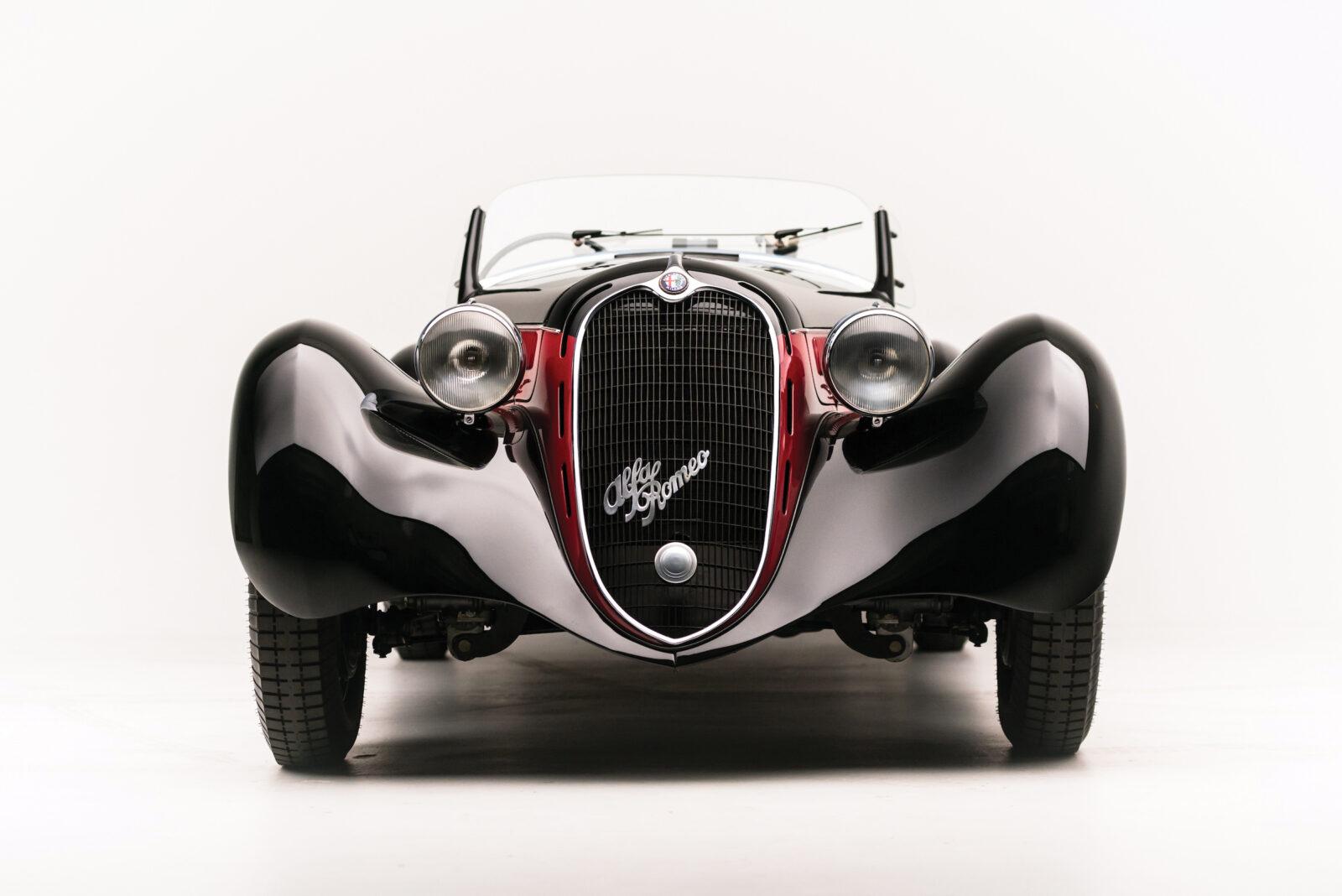 Alfa Romeo 6C 2500 Front 1600x1068 - 1942 Alfa Romeo 6C 2500 SS Spider