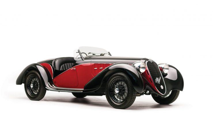 Alfa Romeo 6C 2500 Main Hero 740x469 - 1942 Alfa Romeo 6C 2500 SS Spider
