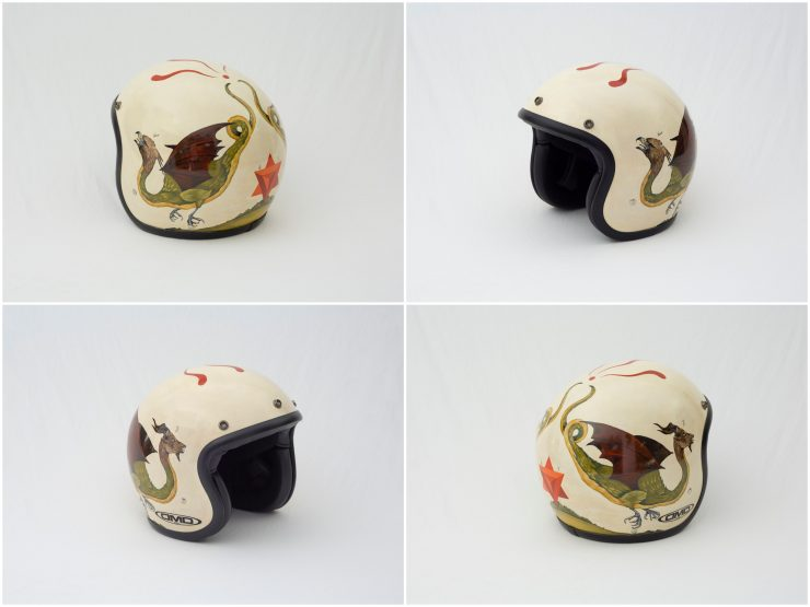 Ape Seven 740x555 - Twenty / 20 Helmet Art Exhibition