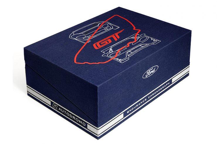 Autodromo x Ford GT Endurance Chronograph 1 740x493 - Autodromo x Ford GT Endurance Chronograph