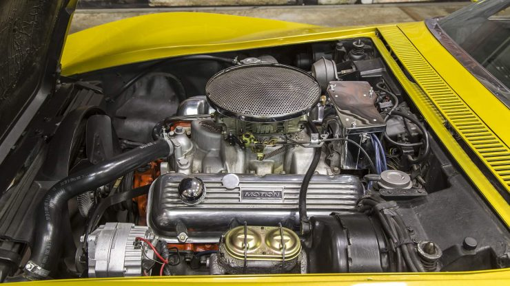 Baldwin Motion Chevrolet Corvette V8 Engine 740x416 - 1969 Baldwin Motion Phase III GT Corvette