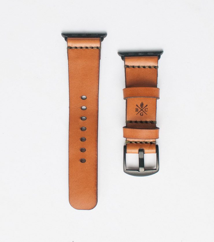 Bexar Goods Bridle Leather Apple Watch Strap 1 740x838 - Bexar Goods Bridle Leather Apple Watch Strap