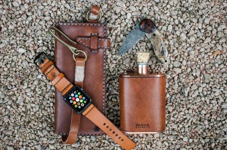 Bexar Goods Bridle Leather Apple Watch Strap 2 740x491 - Bexar Goods Bridle Leather Apple Watch Strap