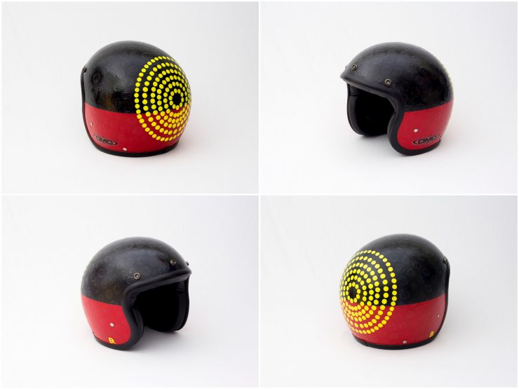 Blak Douglas 740x555 - Twenty / 20 Helmet Art Exhibition