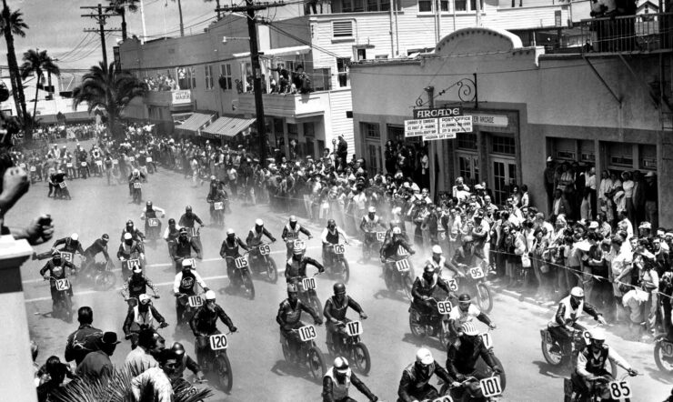 Catalina Grand Prix Motorcycle Race 740x442 - 1957 Catalina Grand Prix Motorcycle Race