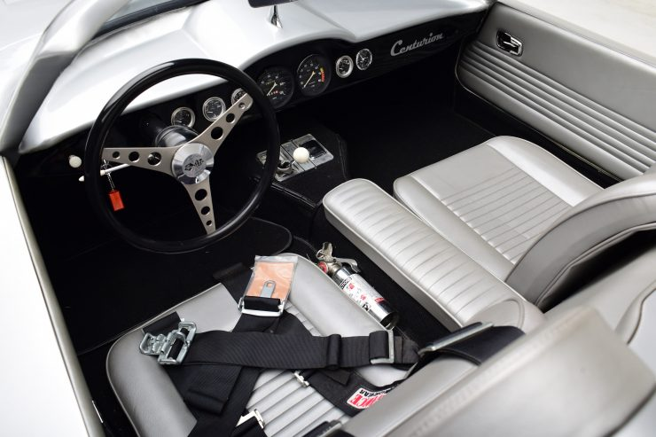 Chevrolet Centurion Corvette Cockpit 740x493 - 1958 Fiberfab Centurion Corvette