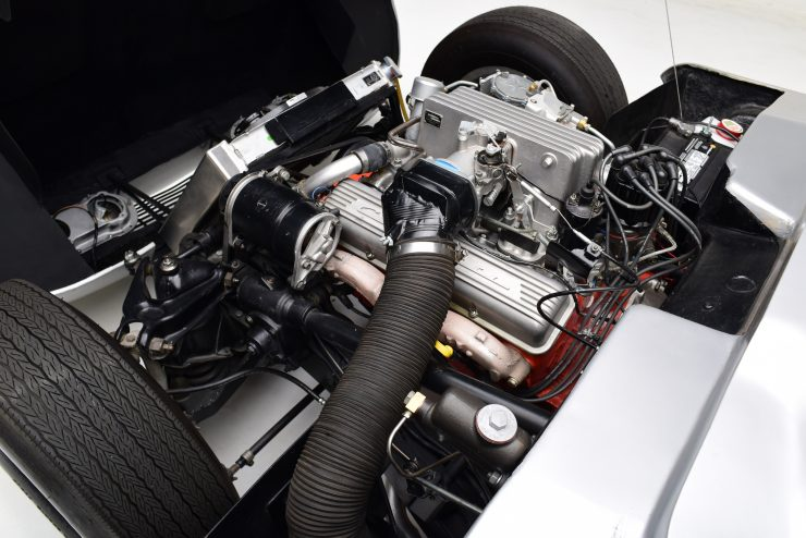 Chevrolet Centurion Corvette Engine 740x494 - 1958 Fiberfab Centurion Corvette