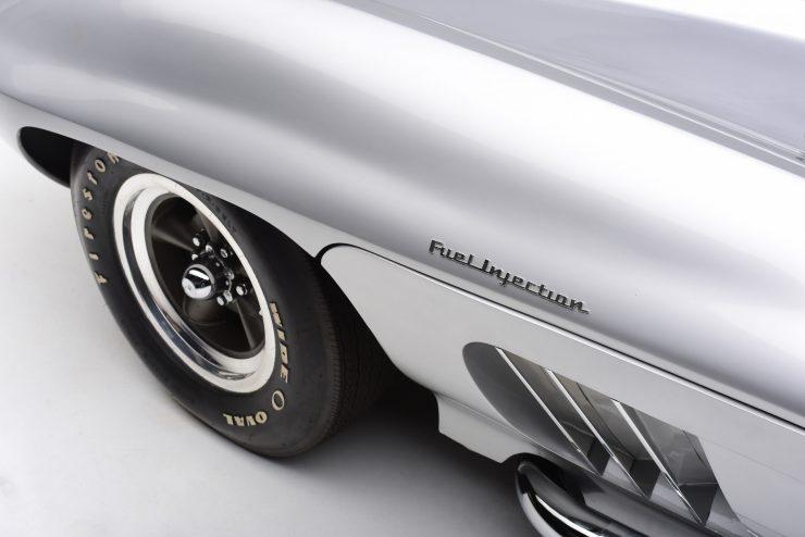 Chevrolet Centurion Corvette Front Side 740x494 - 1958 Fiberfab Centurion Corvette