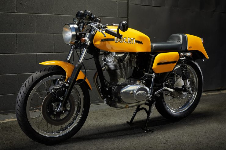 Ducati 450 Desmo 1 740x493 - 1974 Ducati 450 Desmo MK 3