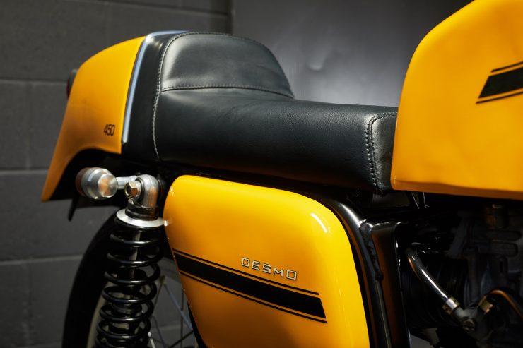 Ducati 450 Desmo 16 740x493 - 1974 Ducati 450 Desmo MK 3