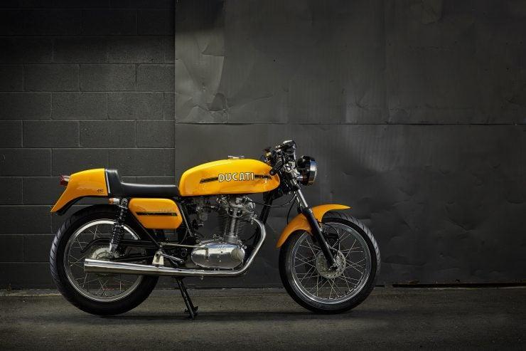 Ducati 450 Desmo 2 740x493 - 1974 Ducati 450 Desmo MK 3