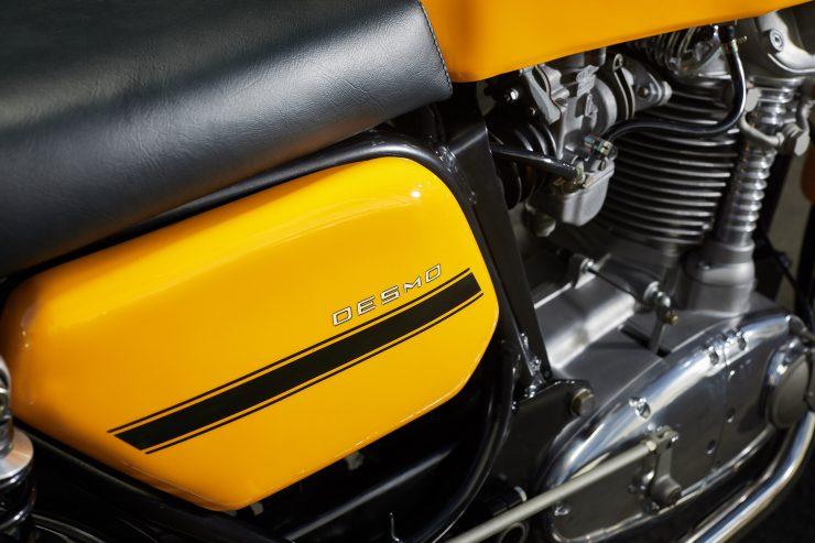 Ducati 450 Desmo 3 740x493 - 1974 Ducati 450 Desmo MK 3