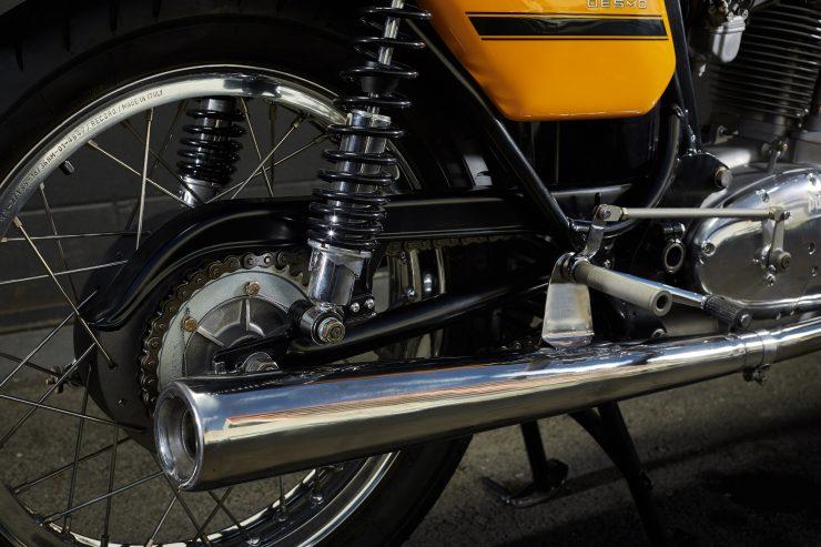 Ducati 450 Desmo 7 740x493 - 1974 Ducati 450 Desmo MK 3