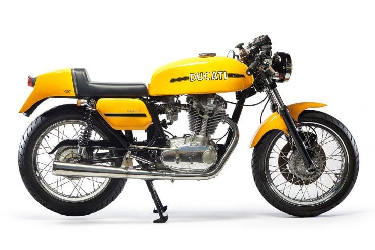 Ducati 450 Desmo 740x493 - 1974 Ducati 450 Desmo MK 3