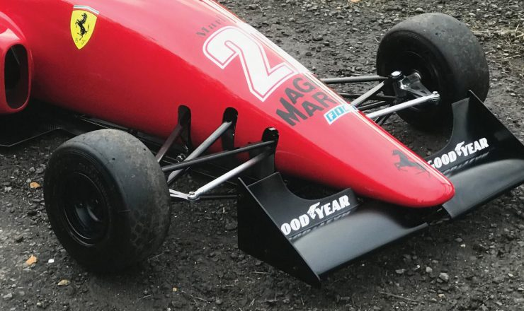 Ferrari 640 F1 Childrens Car 1 740x440 - Ferrari 640 F1-89 Kid's Car