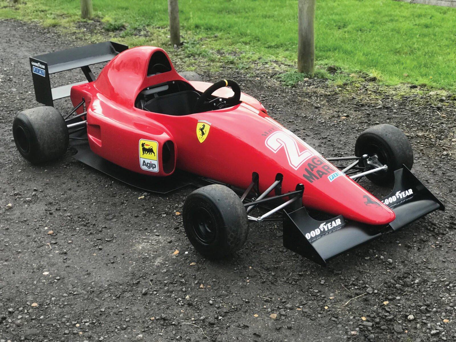 Ferrari 640 F1 Childrens Car 1600x1200 - Ferrari 640 F1-89 Kid's Car
