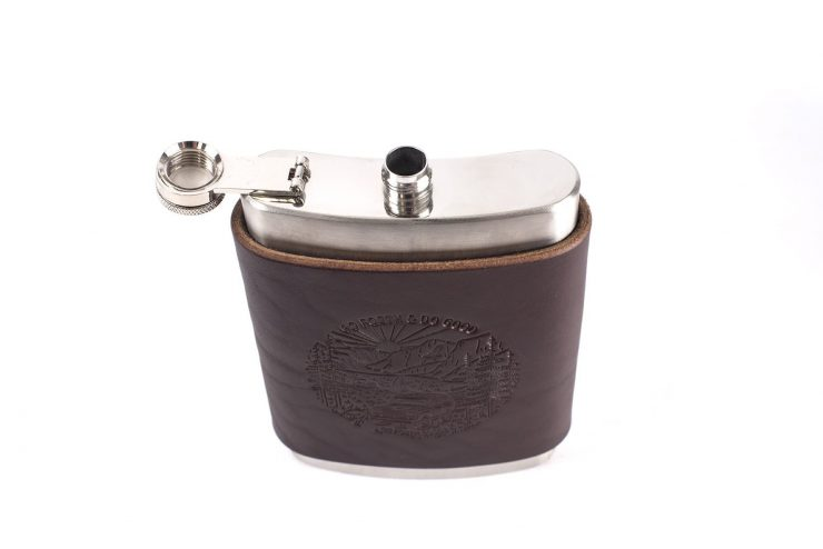 Flask mocha top low 740x494 - Go Forth & Do Good Flask