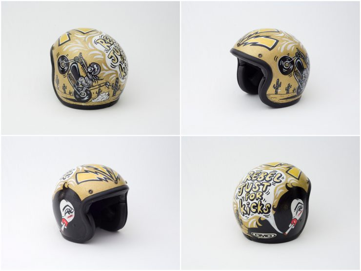 Ginger Taylor 740x555 - Twenty / 20 Helmet Art Exhibition