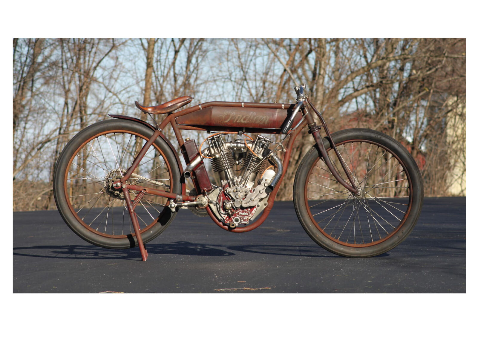 Project Bike 1915 Indian Twin Board Track Racer