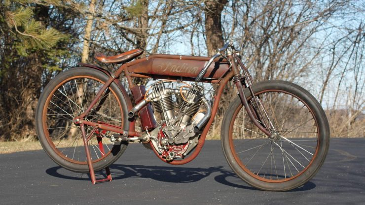 Indian Twin Board Track Racer 2 740x417 - Project Bike: 1915 Indian Twin Board Track Racer