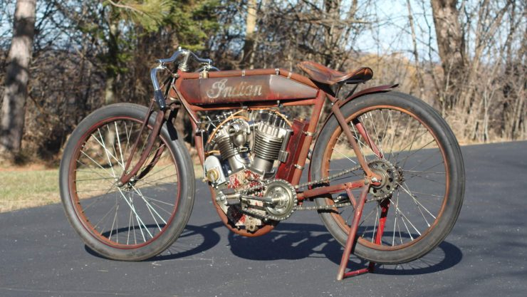 Indian Twin Board Track Racer 5 740x417 - Project Bike: 1915 Indian Twin Board Track Racer