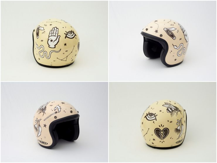 Lauren Webster 740x555 - Twenty / 20 Helmet Art Exhibition