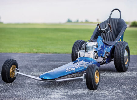 Mickey Thompson Mini Dragster 1 450x330 - 1970 Mickey Thompson Mini Dragster