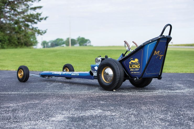 Mickey Thompson Mini Dragster. 2 1 740x493 - 1970 Mickey Thompson Mini Dragster