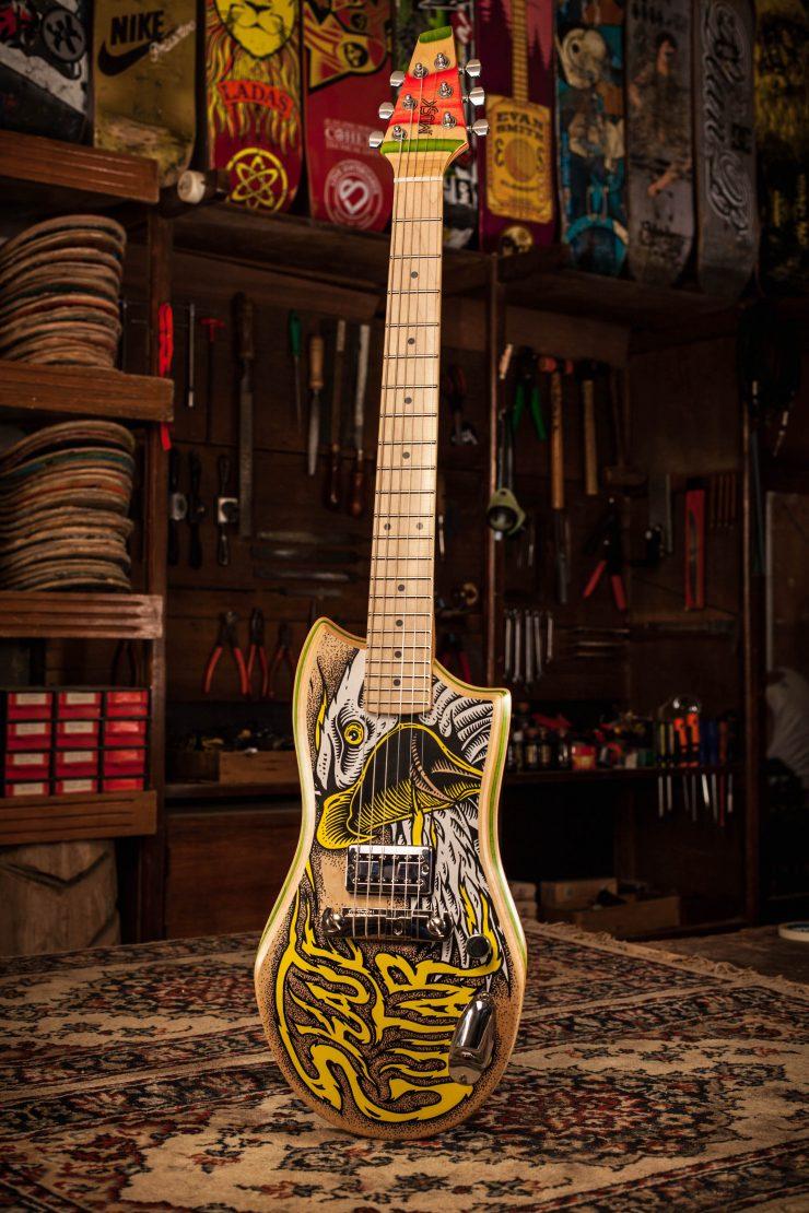 Musk Skateboard Guitars 1 1 740x1110 - Musk Skateboard Guitars