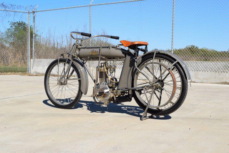 Pope Motorcycle 11 740x493 - Steve McQueen's Pope Model K Motorcycle
