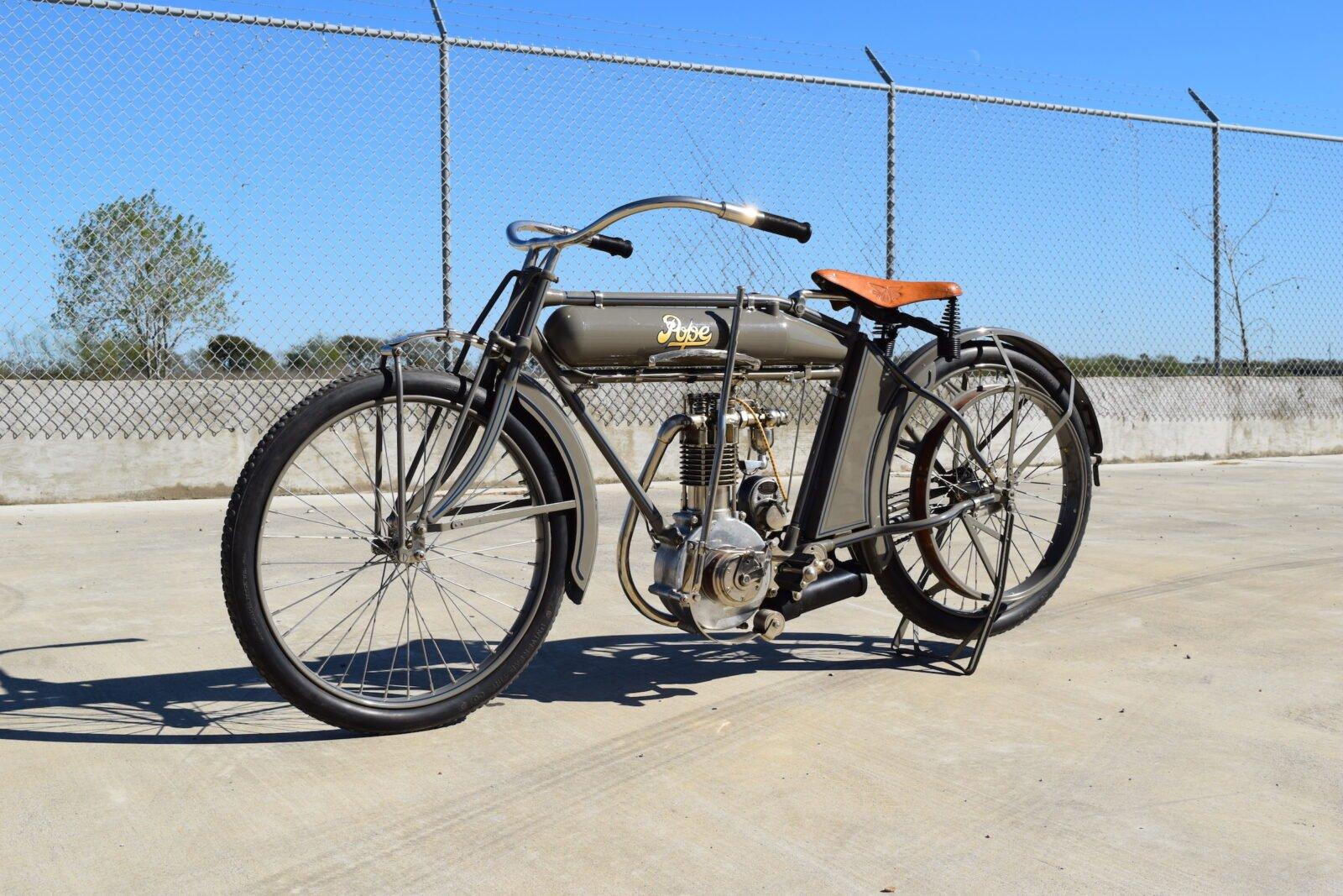 Pope Motorcycle 12 1600x1067 - Steve McQueen's Pope Model K Motorcycle