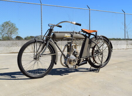 Pope Motorcycle 12 450x330 - Steve McQueen's Pope Model K Motorcycle