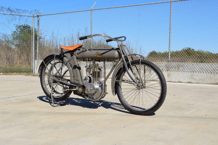 Pope Motorcycle 3 740x493 - Steve McQueen's Pope Model K Motorcycle