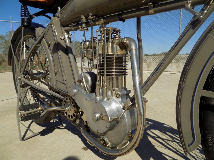 Pope Motorcycle 5 740x555 - Steve McQueen's Pope Model K Motorcycle