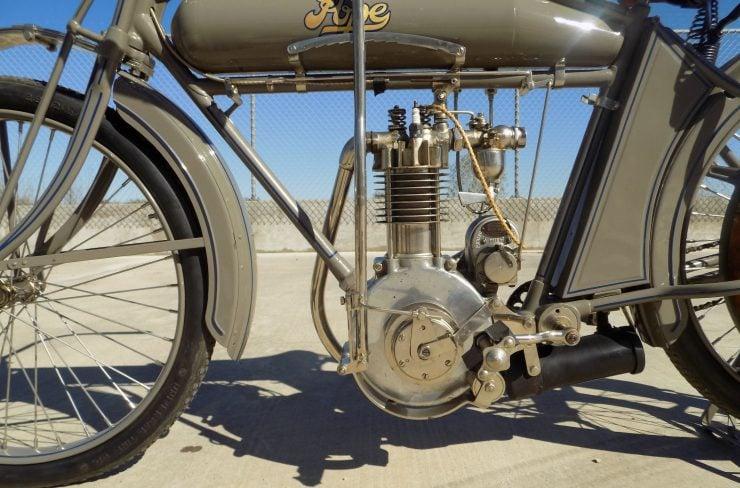 Pope Motorcycle 6 740x488 - Steve McQueen's Pope Model K Motorcycle