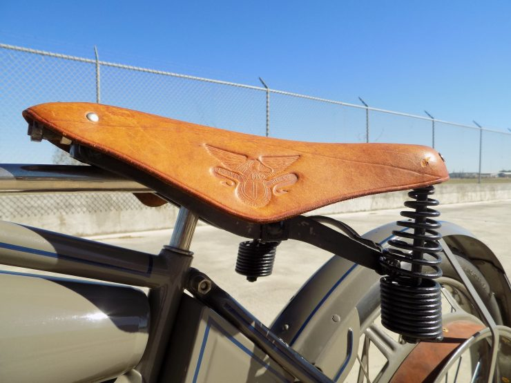 Pope Motorcycle 8 740x555 - Steve McQueen's Pope Model K Motorcycle