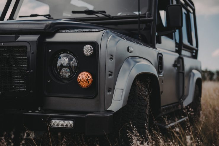 Project Millenium Falcon Land Rover Defender 11 740x494 - Project Millenium Falcon - 430 HP Land Rover Defender